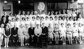 The first graduation of the pioneer leaders faculty, 1973. The best school's group